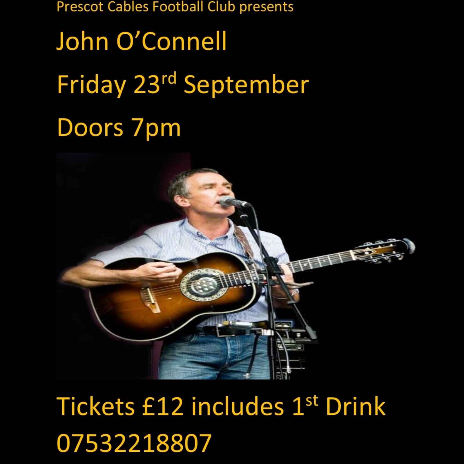 John O'Connell Live at Cables