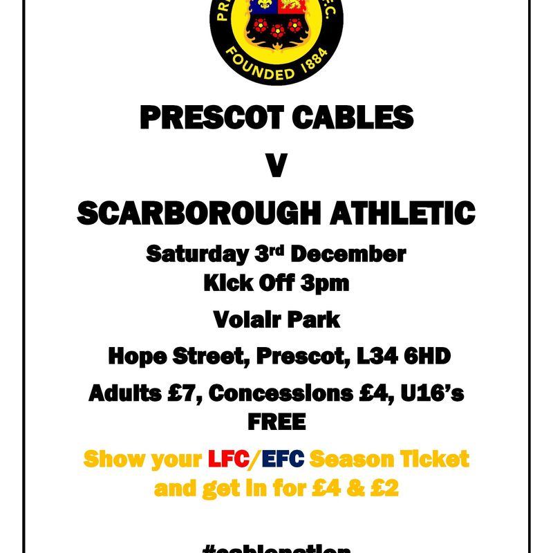 Matchday for Cables