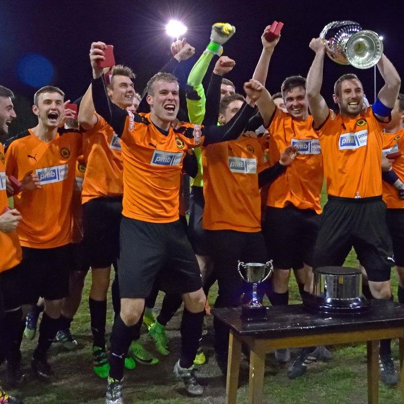 Prescot Cables LCFA Senior Cup Winners
