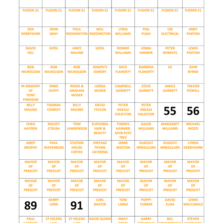 Just 4 Pitch Squares Left. Can we complete it before our 1st game?