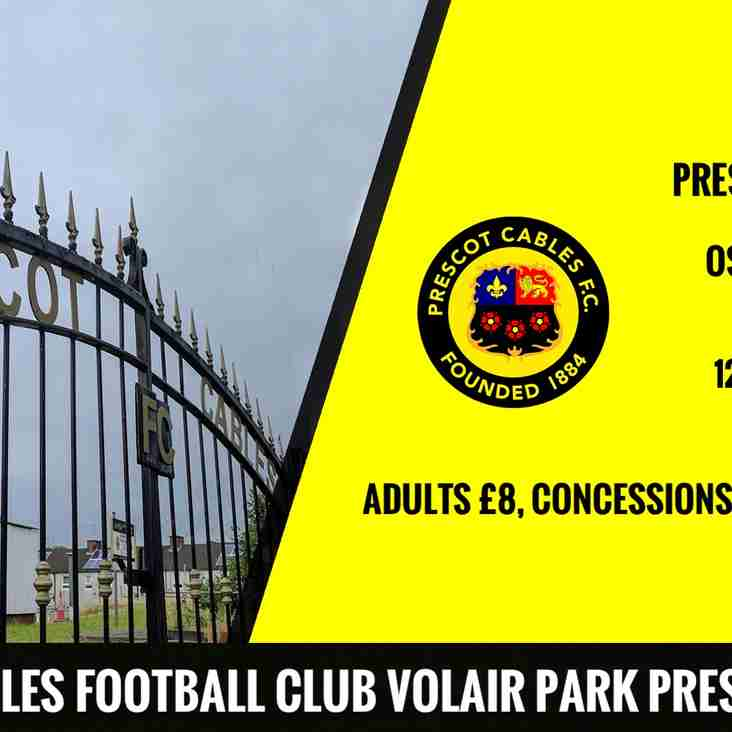 Cables 1st home game this Saturday