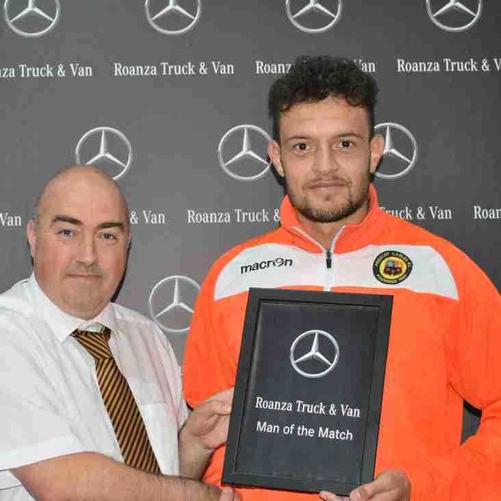 Dom Marie - Roanza Mercedes Man of the Match