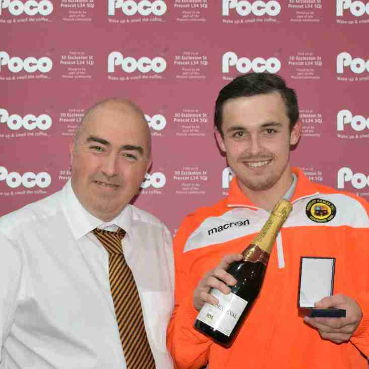 Andy Scarisbrick- Poco Coffee August Player of the Month