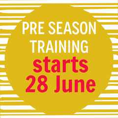 Join us for Pre-Season Training
