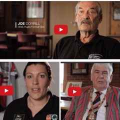 Club members feature in history of rugby videos