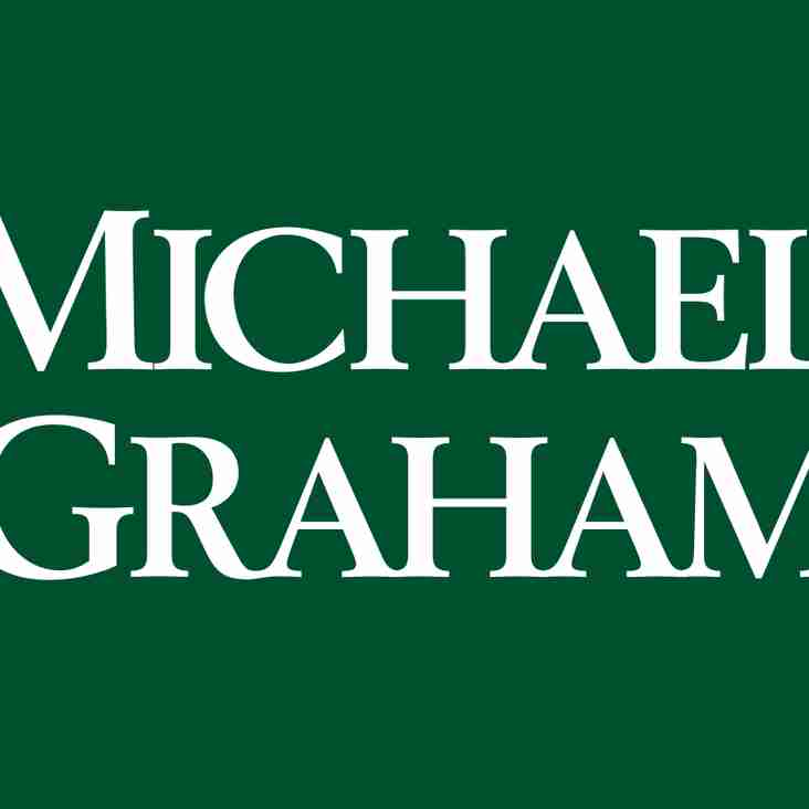Mini and Junior sponsorship by Michael Graham continues
