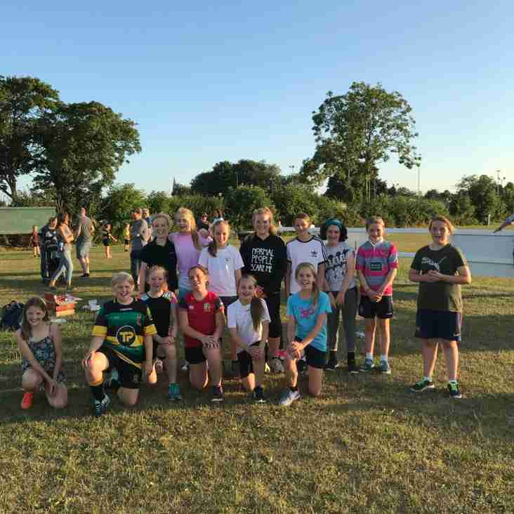 Girls rugby gets off to a flying start