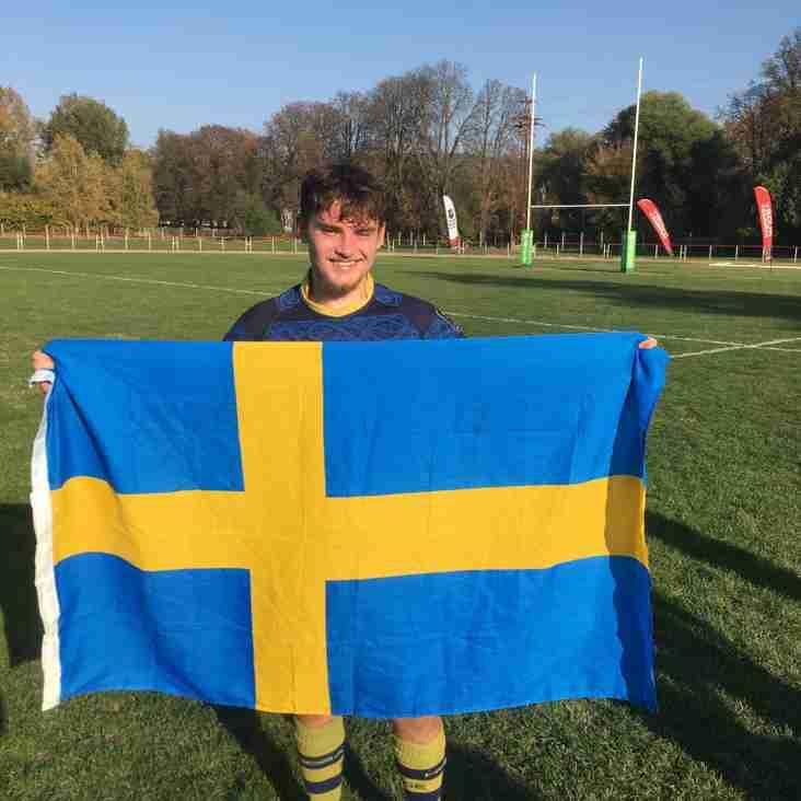 Swedish call up for Johan