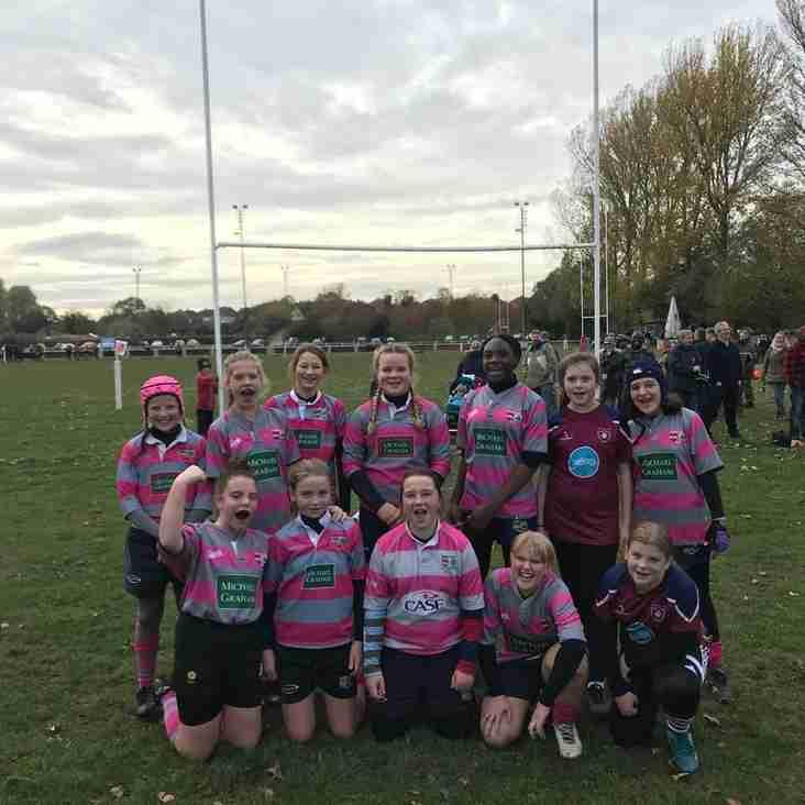 Olney Girls win in style