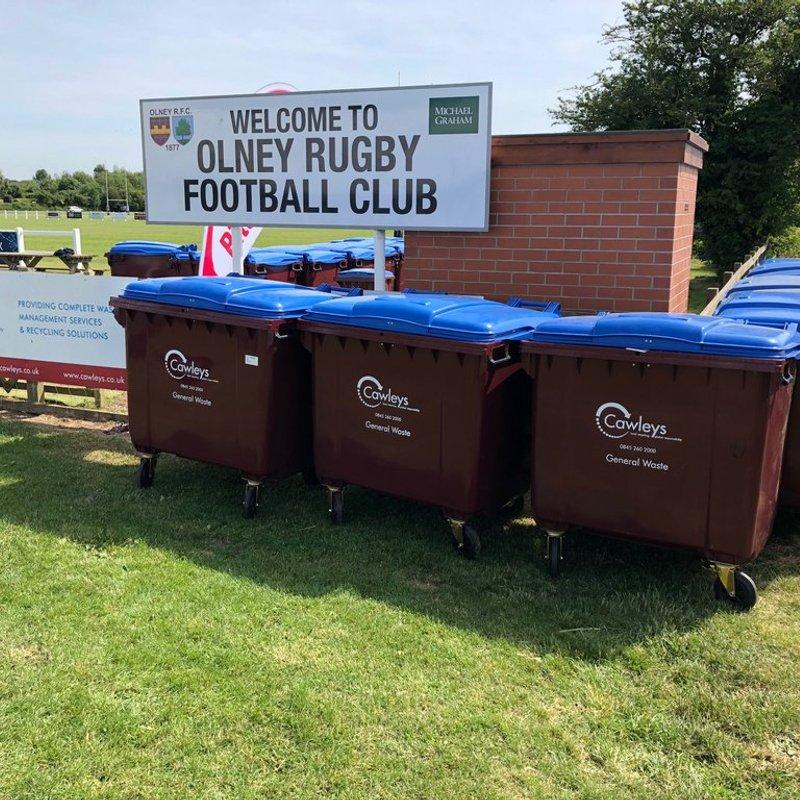 War against waste at Olney 7s