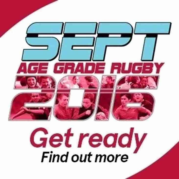 Age Grade Rugby September 2016