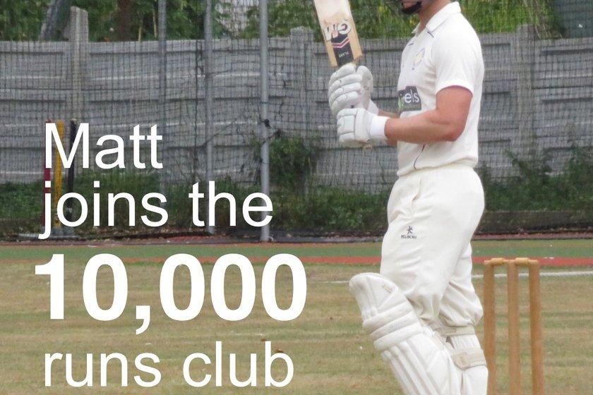 Matt's milestone