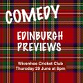 Edinburgh Previews coming to The Hoe...