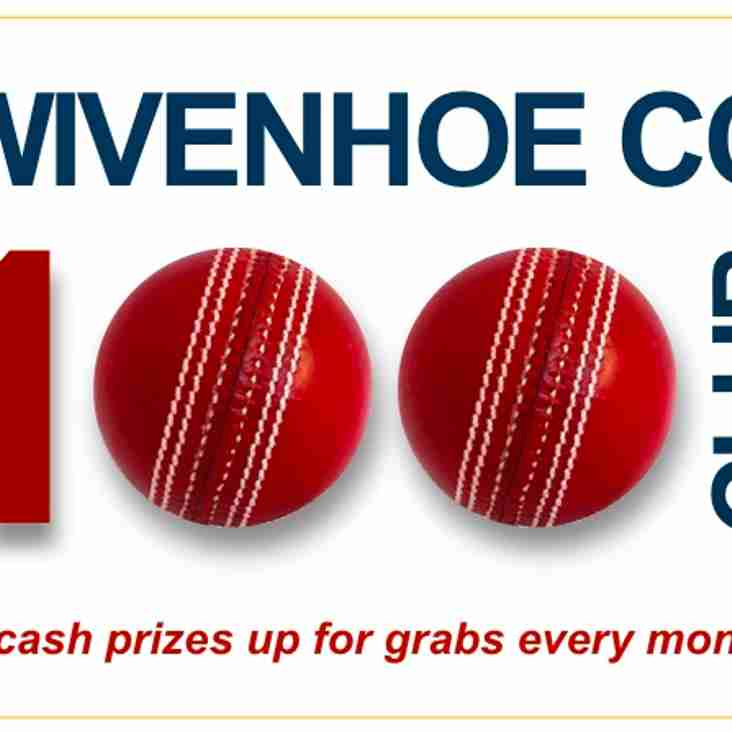 100 Club reopens: cash prizes