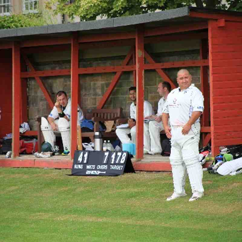 GCC 2XI Lose Close Match at Accies