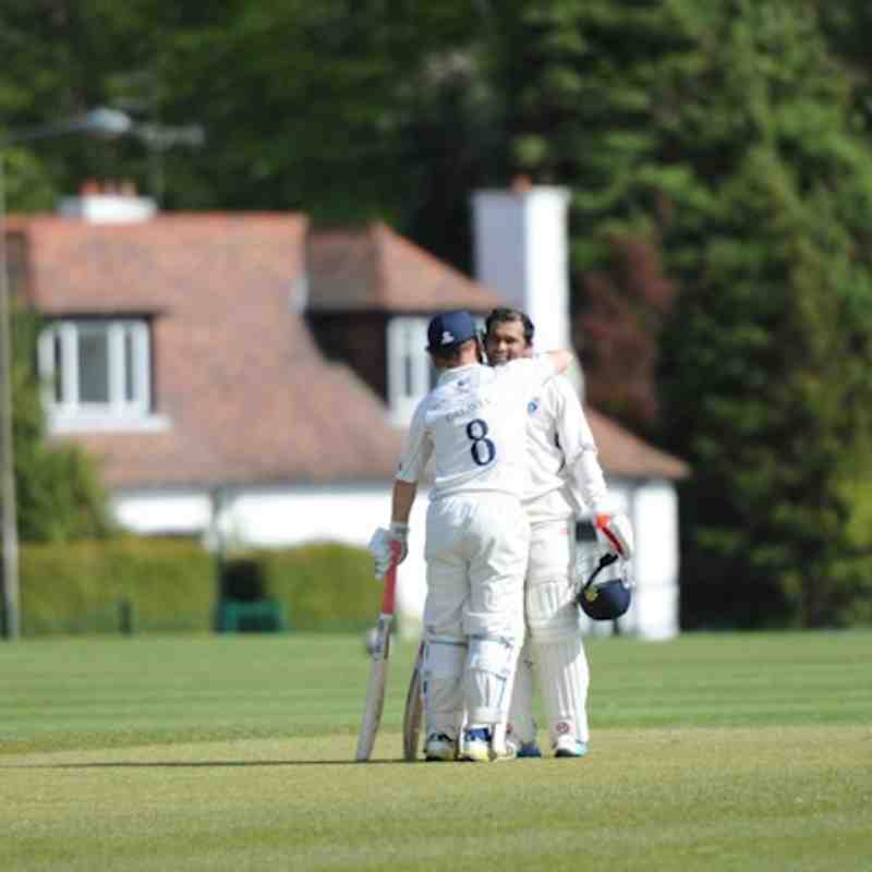 GCC 1XI Win at Holy Cross CC