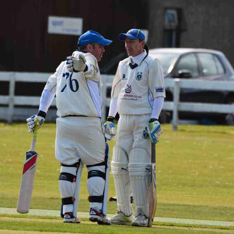 GCC 4XI Win at Clackmannanshire CCC