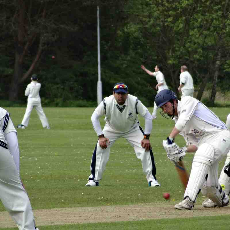 GCC 1XI Beat Edinburgh CC (2015)