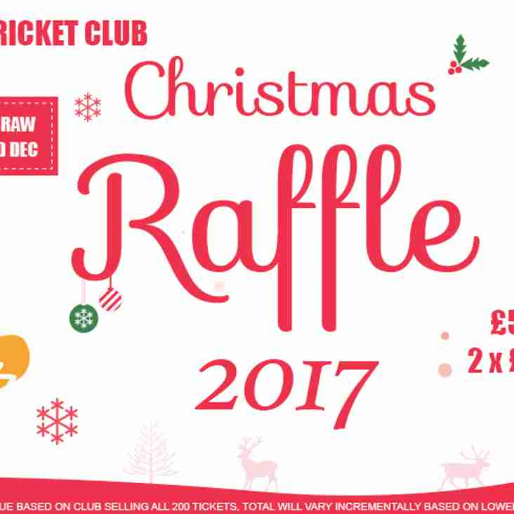 GCC Christmas Raffle 2017