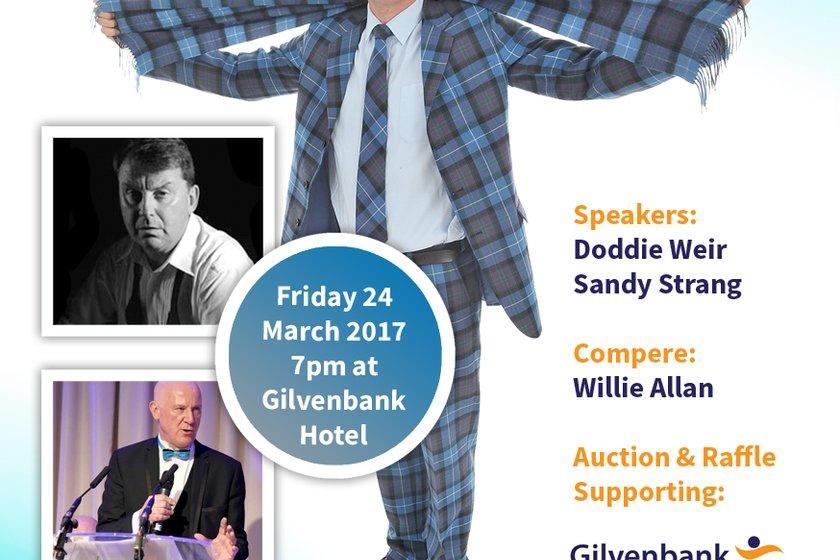 Rugby Star Doddie Weir - Guest Speaker at Glenrothes Sportsman's Dinner
