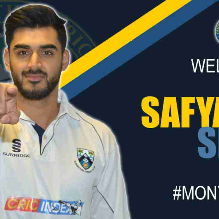 Scotland's Safyaan Sharif Signs For Glens