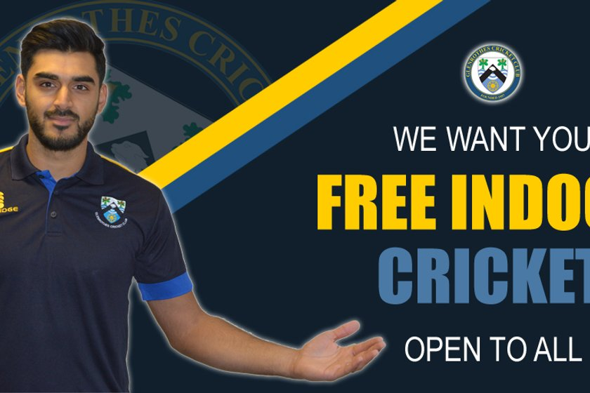 FREE Indoor Training Dates with Glenrothes Cricket Club
