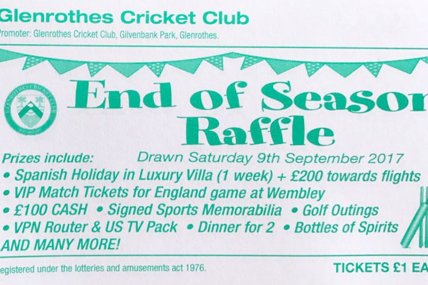 2017 Prize Draw - Tickets Available Now