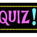 Friday September 7th is Val's Famous Quiz Night