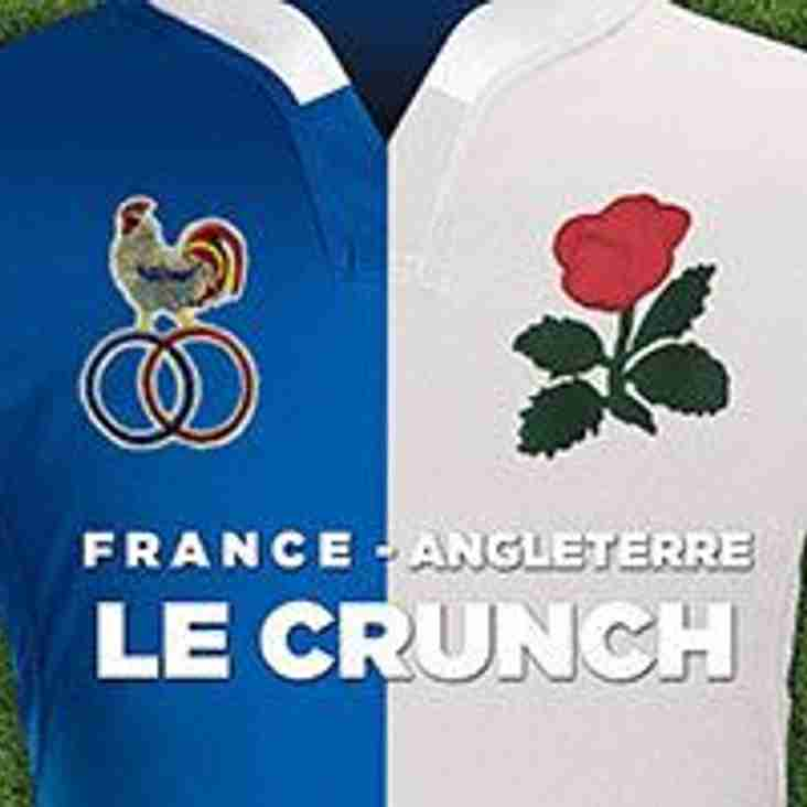"""Come and watch """"Le Crunch"""" at Master Park Pavilion this Saturday"""