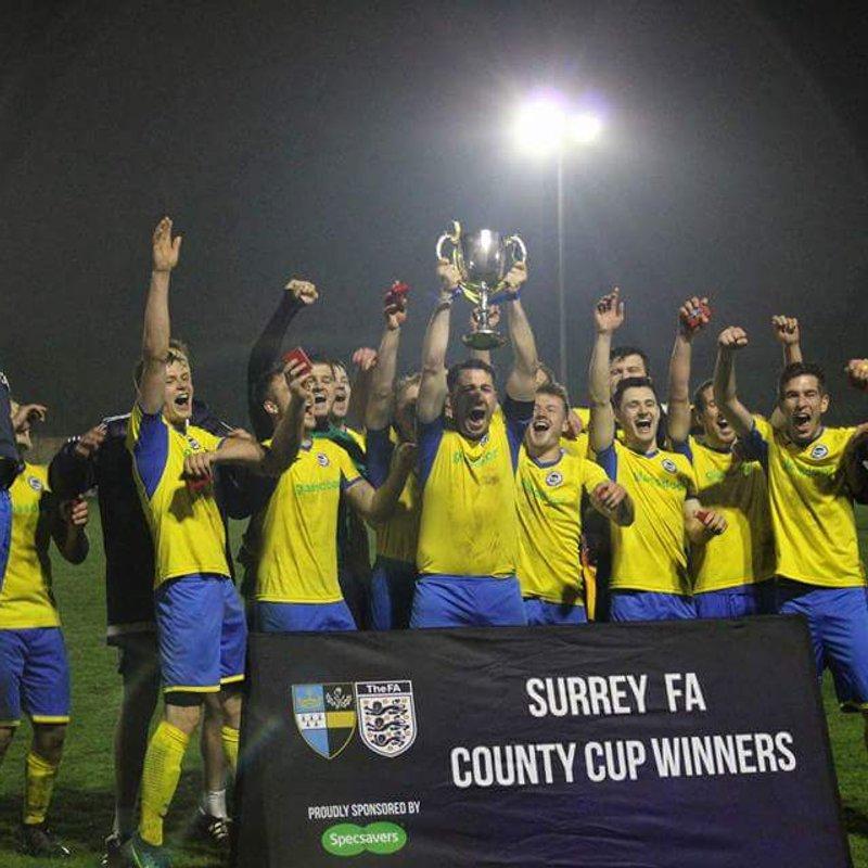 1st Team lose to Windlesham United 0 - 4