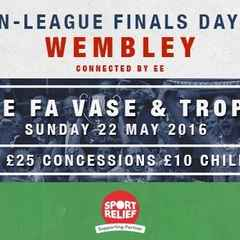 Non-League Finals Day Sunday 22 May