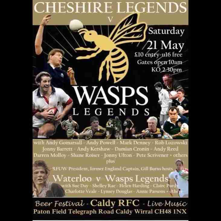 Cheshire Legends v Wasps Legends