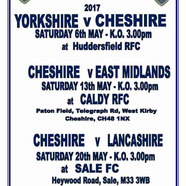 Cheshire XV v East Midlands XV