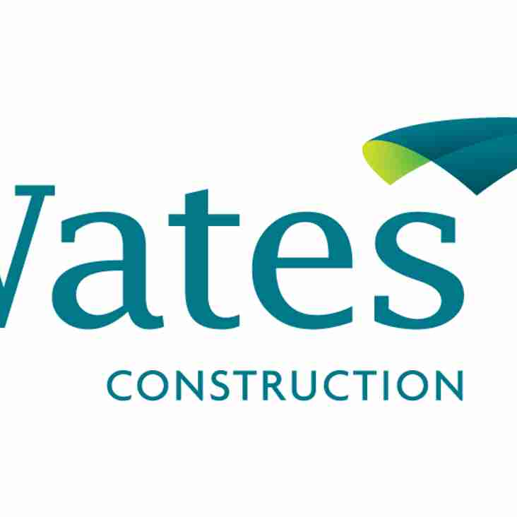 New Sponsorship Announcement - Wates Construction
