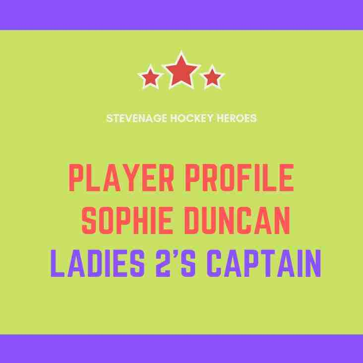 Player Profile: Sophie Duncan