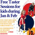 Free hockey sessions - back by popular demand!
