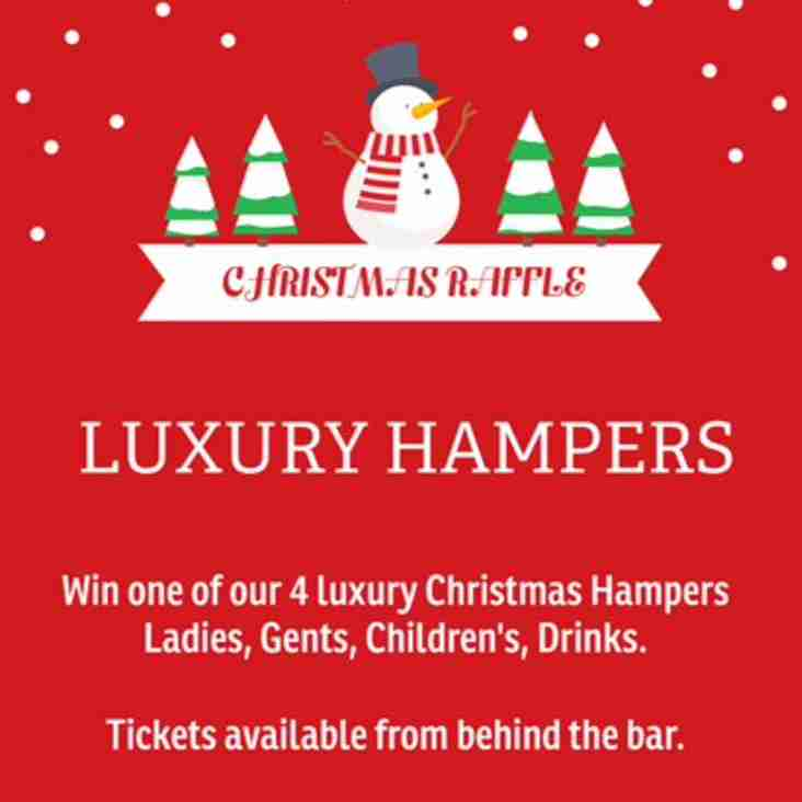 CHRISTMAS HAMPER RAFFLE