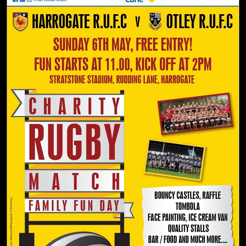 Charity Rugby Match and Family Fun Day