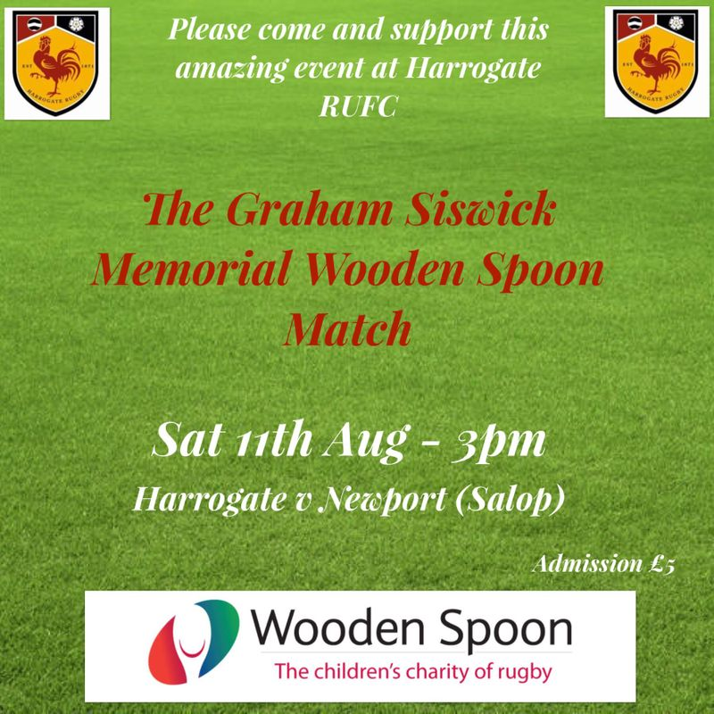 The Graham Siswick Memorial WoodenSpoon Match.