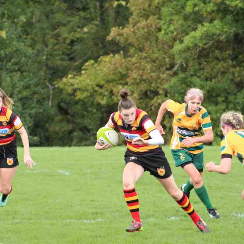 Harrogate Hens vs Northallerton Nightmares - 23rd September 2018