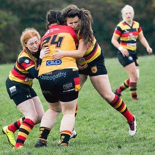 Harrogate Ladies show off a successful scoreline against Southport