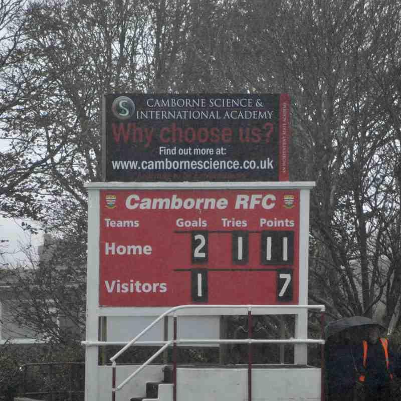 Camborne 11 v 7 Newbury Blues