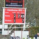 Camborne 49  - 7 Hornets