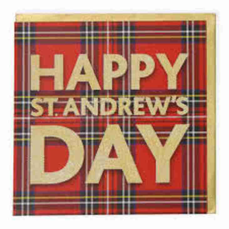 ST ANDREWS DAY LUNCH