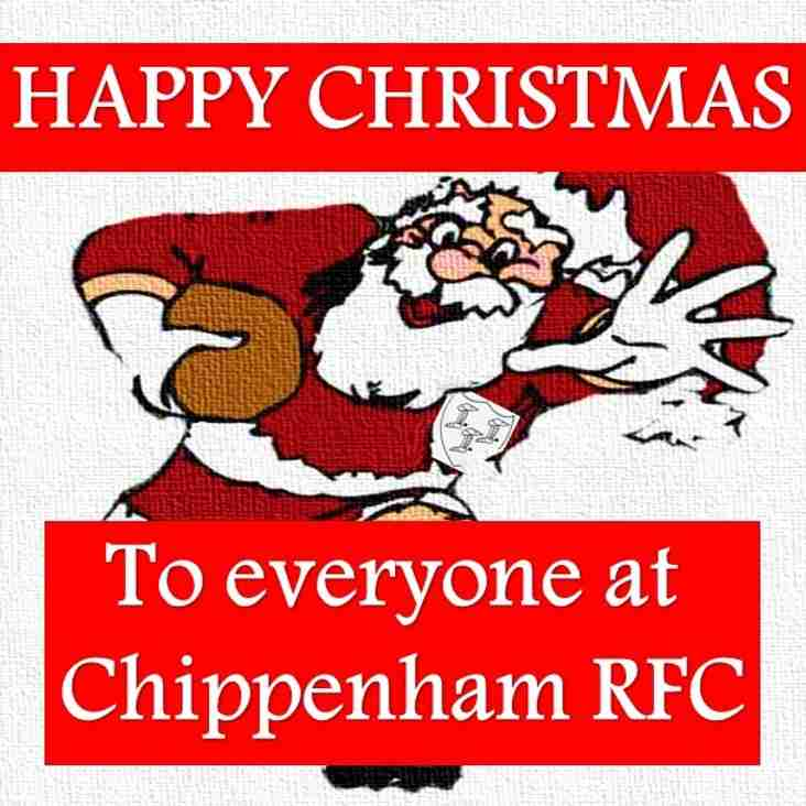 A Festive Message from Chippenham RFC