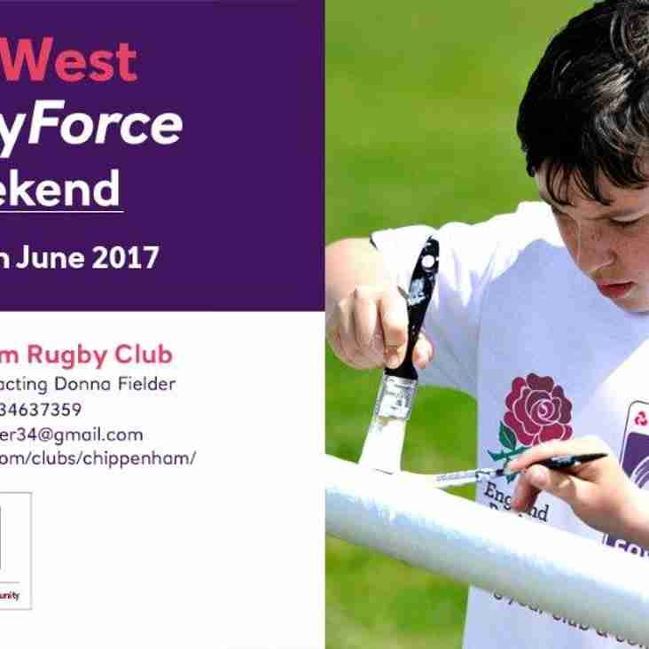 Your Club needs you this weekend!! - Rugby Force Weekend