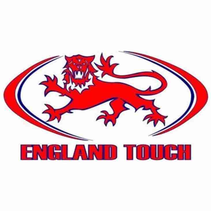 Chippenham RFC have FOUR (+1) in England Touch Squads!!!