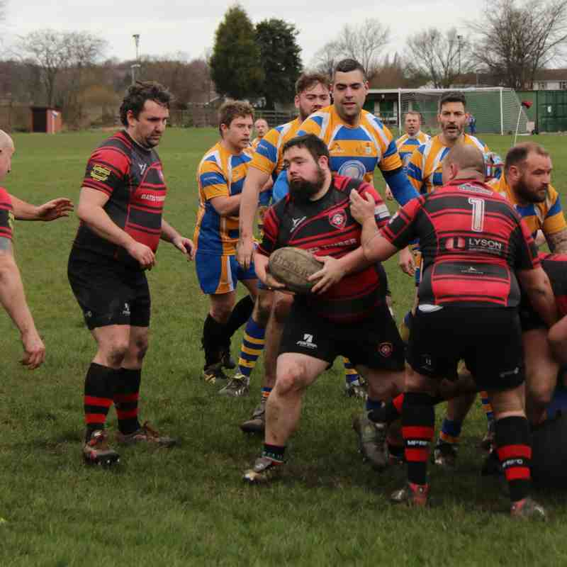 MPRFC 2's vs Old Leams III - 20/2/16