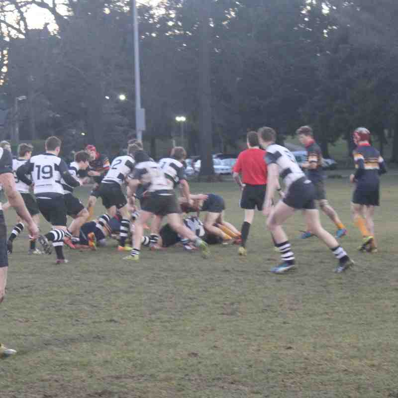 Perthshire U16's vs Dundee High School U16's   09/03/16