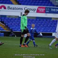 Liam (my son) - mascot at the Lowestoft v Leiston cup match,  photo courtesy of Shirley Whitlow